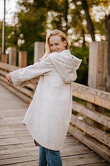 Kabáty - Menčestrový kabát  - 13860177_