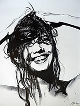 Kresby - Summertime Happiness - tlač A4, A3 - 13861950_
