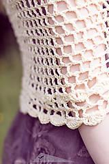 Šatky - romantický pléd - bavlna - 13862965_
