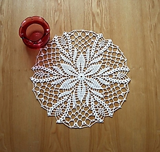 Úžitkový textil - Okrúhla dečka - 13865235_