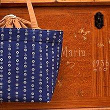 Iné tašky - MODROTLAČOVÁ tvoritaška s odkazom + návod zdarma - 13865005_