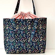 Iné tašky - NOSTALGICKÁ tvoritaška s odkazom + návod zdarma - 13865032_