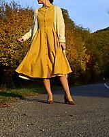 Šaty - Ľanové šaty Lucia - 13866322_