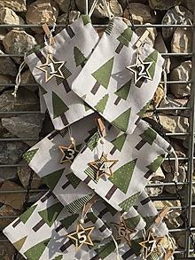 Dekorácie - Adventný kalendár stromy - 13864972_