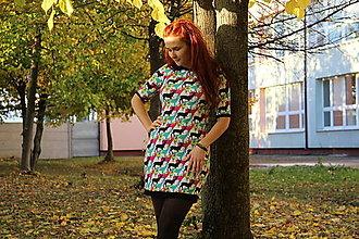 Šaty - Šaty Farebné jelenčeky - 13864732_