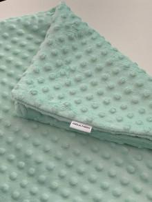 Textil - Detská MINKY deka [rôzne farby] - 13864667_