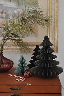 Dekorácie - papierový stromček - 13865363_