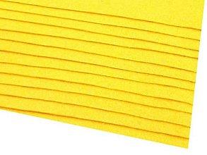Textil - látková dekoratívna plsť 20x30cm (Žltá) - 13865833_
