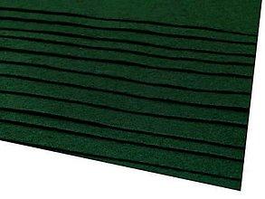 Textil - látková dekoratívna plsť 20x30cm (Zelená) - 13865849_