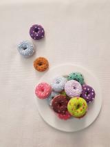 - Háčkovaný koláčik - donut - 13866064_