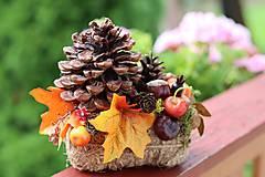 Dekorácie - Jesenná dekorácia, zľava !! - 13869597_