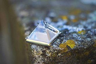 """Náhrdelníky - Nerezový náhrdelník... """" Pyramid """" - 13868354_"""