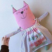 Hračky - MICI PARÁDNICE - kočička oblékací - 13868893_