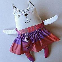 Hračky - POTŘEBUJU NOVOU SKŘÍŇ! - kočička oblékací - 13869921_