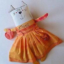 Hračky - SPOUSTU ŠATŮ MÁÁÁM !!! - kočička oblékací - 13870170_