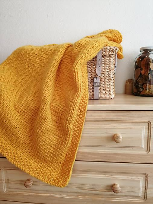 Textil - Zimná hrubá detská deka, rôzne farby, z ovčej vlny - 13868556_