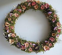 """Dekorácie - Kvetinový veniec """"Faerie"""" - 13871306_"""