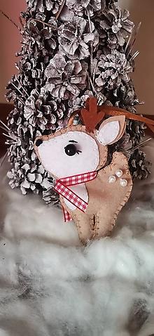 Dekorácie - Vianočný sobík - 13871718_