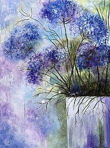Obrazy - Kvetinový vesmír - 13871864_