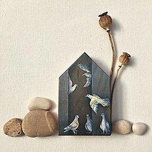 Obrazy - Dom holubia - 13871875_
