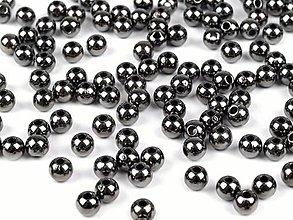 Korálky - korálky metalic glance 4mm - 100ks - 13873332_