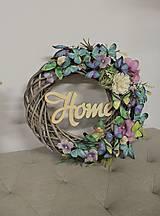 Dekorácie - Veľká 30cm štýlová jesenná dekorácia pred Váš domov - 13880270_