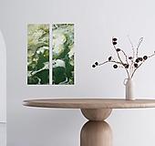 Obrazy - Green 60x20-2x - 13883543_