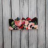 Detské čiapky - Korunka kvet - 13881910_